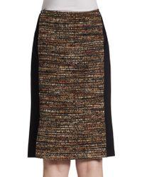 Lafayette 148 New York Bouclã© Pencil Skirt - Lyst