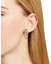 Melinda Maria - Leighton Cluster Stud Earrings - Lyst