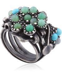 Bottega Veneta Stones Ring - Lyst