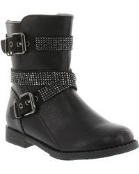 Ivanka Trump Treasure Faux Leather Boots - Lyst