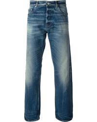 Golden Goose Deluxe Brand Blue Faded Jeans - Lyst