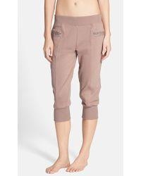 Adidas By Stella McCartney Ess French-Terry Sweatpants - Lyst