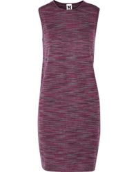 M Missoni Jersey Mini Dress - Lyst