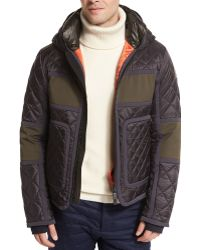 Moncler Braye Diamond-quilted Down Jacket black - Lyst