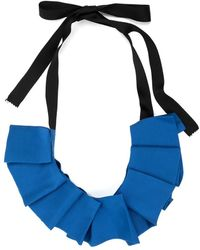 Undercover - Pleated Ribbon Necklace - Lyst