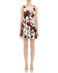 Dolce & Gabbana Poplin Sleeveless Dress - Lyst