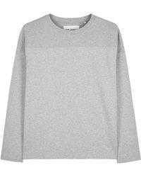 Our Legacy - Grey Mélange Cotton Sweatshirt - Lyst