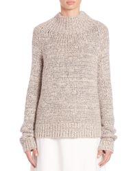 The Row | Hetty Mockneck Sweater | Lyst