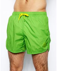Pull&Bear - Swim Shorts With Colour Block - Lyst