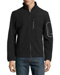 Emanuel Ungaro Thermasoft Water  Wind Resistant Jacket - Lyst
