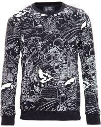 Markus Lupfer - Rope And Animal Print Sweatshirt - Lyst