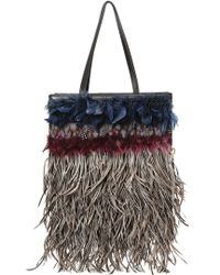 Marni Feathered Shopping Tote Bag - Lyst