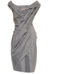 Vivienne Westwood Gold Label Dora Gingham Dress - Lyst