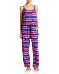 Tommy Bahama - Striped Long Jumpsuit - Lyst