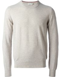 Moncler Crew Neck Sweater - Lyst