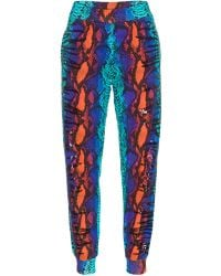House Of Holland Embellished Sweatpants Snake - Lyst