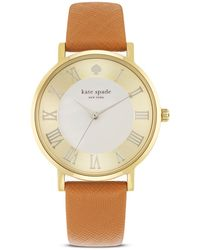Kate Spade Gramercy Grand Watch, 38Mm - Lyst