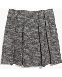 Madewell Countdown Skirt in Tweed - Lyst