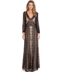 Stone Cold Fox Black Vermont Dress - Lyst