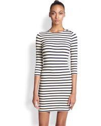 Jean Paul Gaultier Striped Jersey Tunic - Lyst