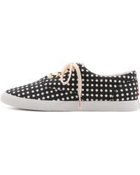 Bucketfeet - Dots Low Top Sneakers - Black/White - Lyst