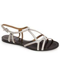 Report Signature 'Sarasota' Crystal Embellished Sandal - Lyst