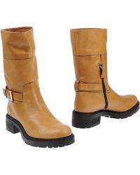 Armani Collezioni Ankle Boots - Lyst