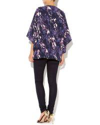 Mary Portas - Martha Marble Kimono Jacket - Lyst