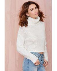 Nasty Gal Lillian Crop Sweater - Lyst