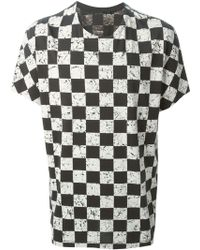 Haider Ackermann Marble Chess Board Print T-Shirt - Lyst