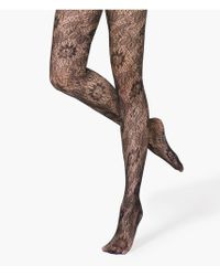 Express Lace Full Tights - Lyst