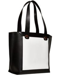 Alice + Olivia Leather Tote - Lyst