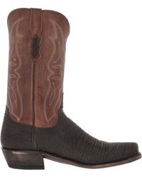 Lucchese Black 74 - Lyst