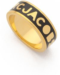 Marc By Marc Jacobs - Dreamy Logo Band Ring - Lyst