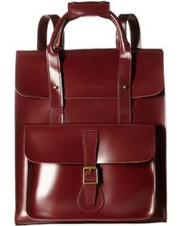 Dr. Martens - Large Leather Backpack - Lyst