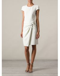 Emilio Pucci White Knot Dress - Lyst