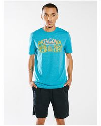 Patagonia Beachtown Sign Tee - Lyst