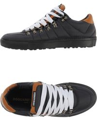 DSquared²   black Low-tops & Trainers   Lyst
