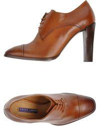 Ralph Lauren Collection Laceup Shoes - Lyst