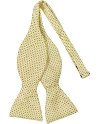 Forzieri Small Polkadot Self-Tie Silk Bowtie - Lyst