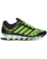 Adidas Mens Springblade Drive Running Sneakers From Finish Line - Lyst