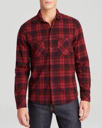 Alternative Apparel Yarn Dye Flannel Sport Shirt - Lyst