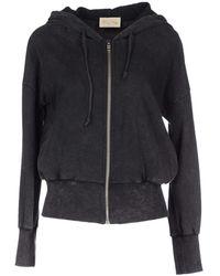 American Vintage Sweatshirt gray - Lyst
