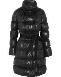 Moschino Cheap & Chic Quilted Shell Coat - Lyst
