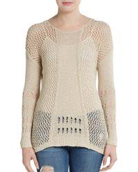 Rebecca Taylor Open-knit Crochet Top - Lyst