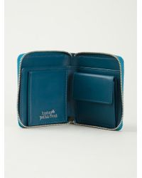 Lucien Pellat Finet - Printed Leather Wallet - Lyst