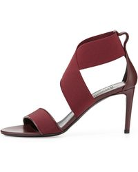 Balenciaga Elastic Crisscross Sandal - Lyst