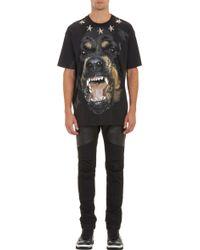 Givenchy Star-studded Rottweiler T-shirt - Lyst