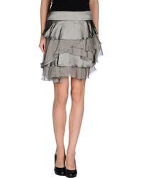 Philosophy di Alberta Ferretti Mini Skirt - Lyst