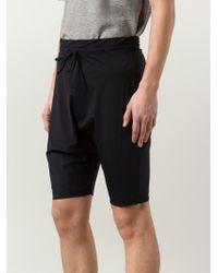 Lost & Found - Dropped Crotch Swim Shorts - Lyst